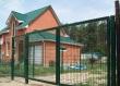Распашные ворота из сетки, фото 1