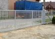 Откатные ворота из сетки, фото 1