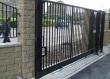 Откатные ворота из сетки, фото 2