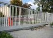Откатные ворота из сетки, фото 4