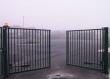 Распашные ворота из сетки, фото 3