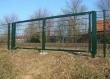 Распашные ворота из сетки, фото 4